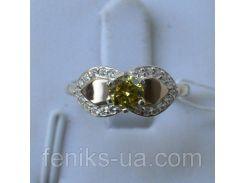 Кольцо серебряное  (042к)