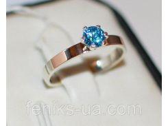 Кольцо серебряное   (045к)