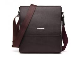 Набор - сумка мужская + 4 предмета Коричневый