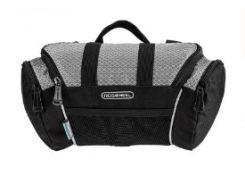 Велосипедная сумка Roswheel черно-серая