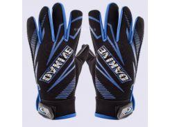 Перчатки велосипедные утепленные синие