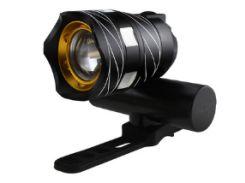 Велосипедная мощная фара LED фонарь USB