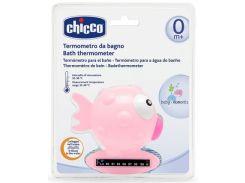 Термометр для измерения температуры воды Chicco Рыбка, розовый (06564.10)