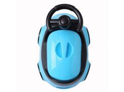 Детский горшок Babyhood Автомобиль, голубой (BH-116B)