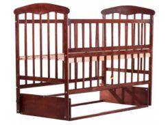 Детская кроватка Наталка ОТМО, ольха темная (60803)