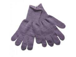 Перчатки Kivat, шерсть, р.4, фиолетовый (Kivat-155-21-4)