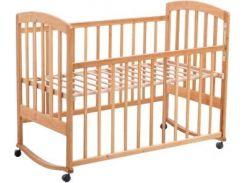 Кроватка Laska-M Лама, ваниль (20641)