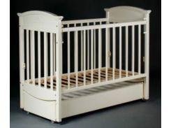 Кроватка Laska-M Наполеон VIP, ваниль (17585)