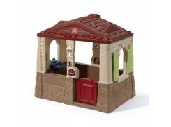 Детский домик Step 2 Neat & Tidy, коричневый (841600)
