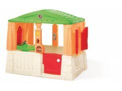 Детский домик Step 2 Neat & Tidy, оранжевый (880500)