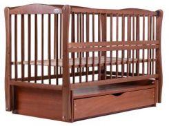 Кроватка Babyroom Элит DEMYO-5, бук тик (622020)