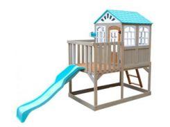 Деревянный детский домик с горкой Kidkraft Highline Retreat (F29060EF)