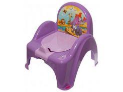 Горшок-стульчик Tega Сафари, фиолетовый (SF-010-128)