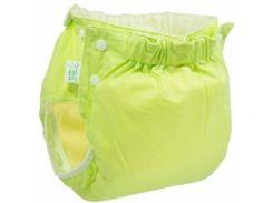 Подгузник трикотажный ЭКО ПУПС Active Premium с вкладышем, 18-23 кг, зеленый (ТП3ВК3-4з)