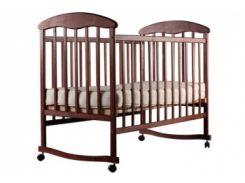 Детская кроватка Наталка ОТ, ольха темная (20003)