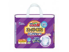 Трусики Goo.N BIG++ (15-35 кг) для мальчиков, 14 шт.