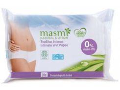 Влажные салфетки Masmi для интимной гигиены, 20 шт.