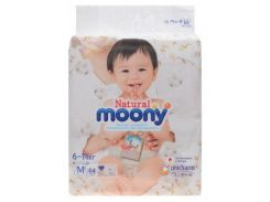 Подгузники Moony Natural M (6-11 кг), 64 шт.