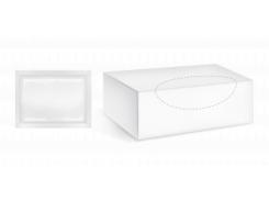 Влажные салфетки PRO Service, белый, 80 шт.
