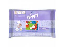 Влажные салфетки Bella Baby Happy, 10 шт.