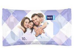 Влажные салфетки Bella Для всей семьи, универсальные, 10 шт.