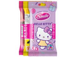 Влажные салфетки Smile 2+1, 3х15 шт.