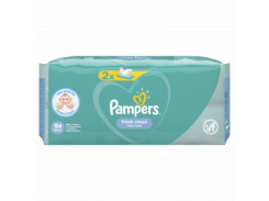 Детские влажные салфетки Pampers Baby Fresh Clean, 2x52 шт.