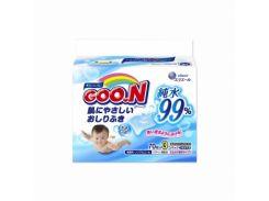 Влажные салфетки Goo.N для чувствительной кожи, 3 мягких сменных блока по 70 шт.