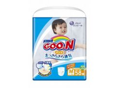 Трусики-подгузники Goo.N M (6-12 кг), 58 шт., collection 2018 (853626)