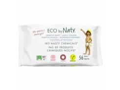 Влажные салфетки Naty ЭКО, 56 шт.