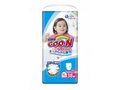 Трусики-подгузники Goo.N Big XL (12-20 кг) для девочек, 38 шт., collection 2018 (853630)