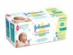 Влажные детские салфетки Johnson's® Baby Нежность хлопка, 56 шт.
