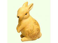 Большая копилка фигурка Кролик ажурный