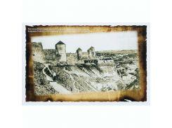 Открытка Каменец-Подольский Турецкая крепость с юга начала XX в.