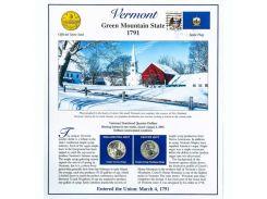 Постер штата Вермонт