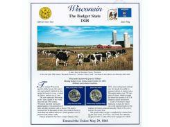 Постер штата Висконсин