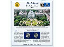 Постер штата Луизиана