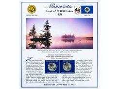 Постер штата Миннесота