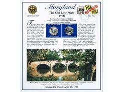 Постер штата Мэриленд