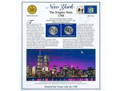Постер штата Нью-Йорк