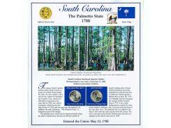 Постер штата Южная Каролина