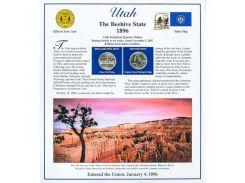 Постер штата Юта