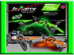 Квадрокоптер аккумуляторный  р/у с видеокамерой, в коробке Aviator