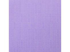 Готовые рулонные шторы 375*1500 Ткань Лён 7438 Сирень