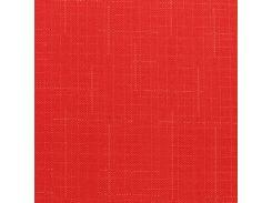 Готовые рулонные шторы 375*1500 Ткань Лён 610 Красный