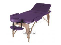 Массажный стол Art of Choice DEN фиолетовый, Фиолетовый