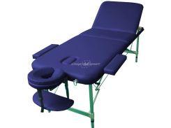 Массажный стол Art of Choice LEO Comfort синий