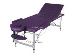 Массажный стол Art of Choice JOY фиолетовый