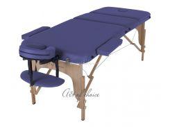 Массажный стол Art of Choice DEN Comfort синий
