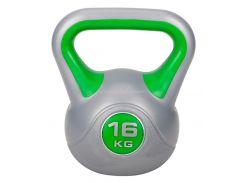 Гиря виниловая Hop-Sport 16 кг